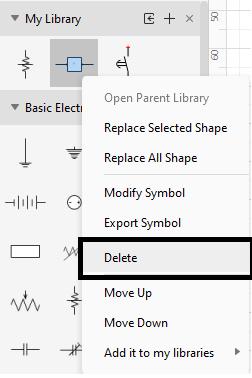 Delete a Symbol