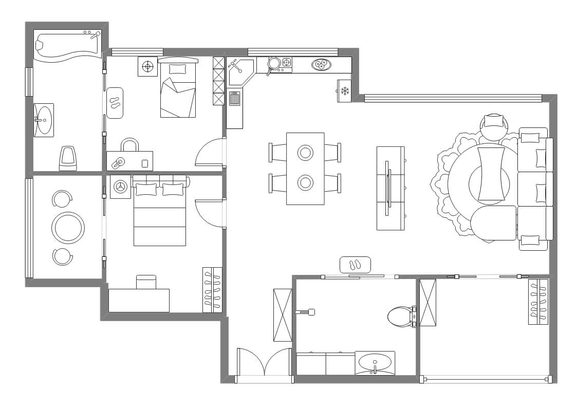 Appartment House Plan