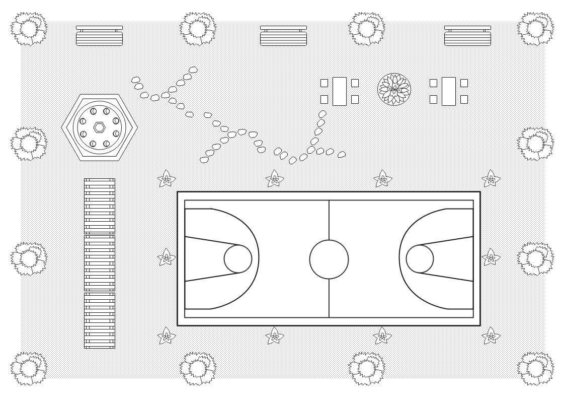 Garden Design Floor Plan