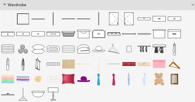 Simboli del guardaroba