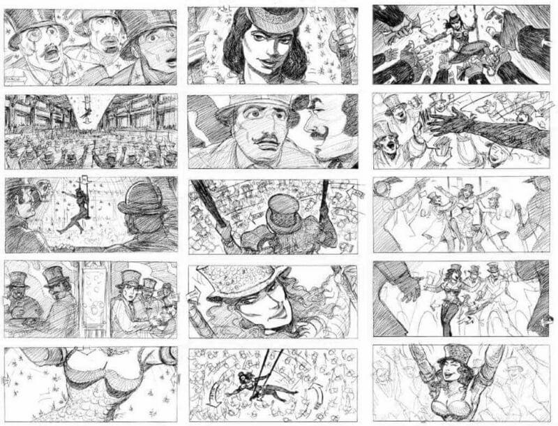Thumbnail Storyboards