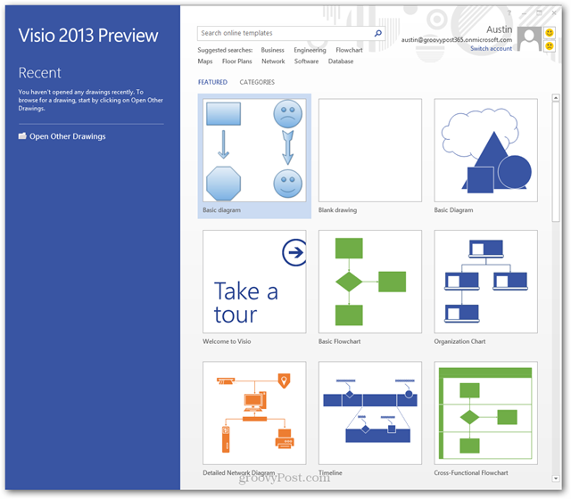 visio 2013 preview