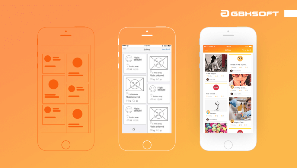 Wireframes, mockups, and prototypes