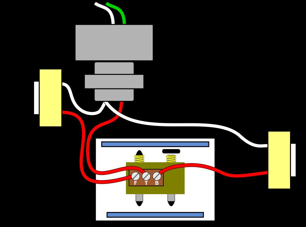 Doorbell Wiring Pictorial Diagram