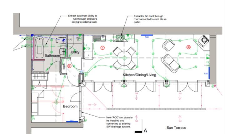 Home Electrical Wiring Plan