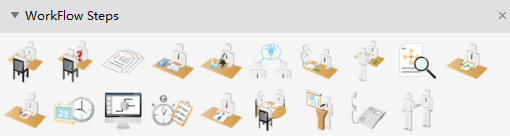 Workflow Step Symbols