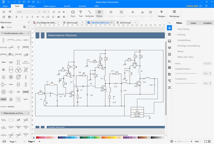 Anschlussplan Software Stromlaufplan Einfach Erstellen