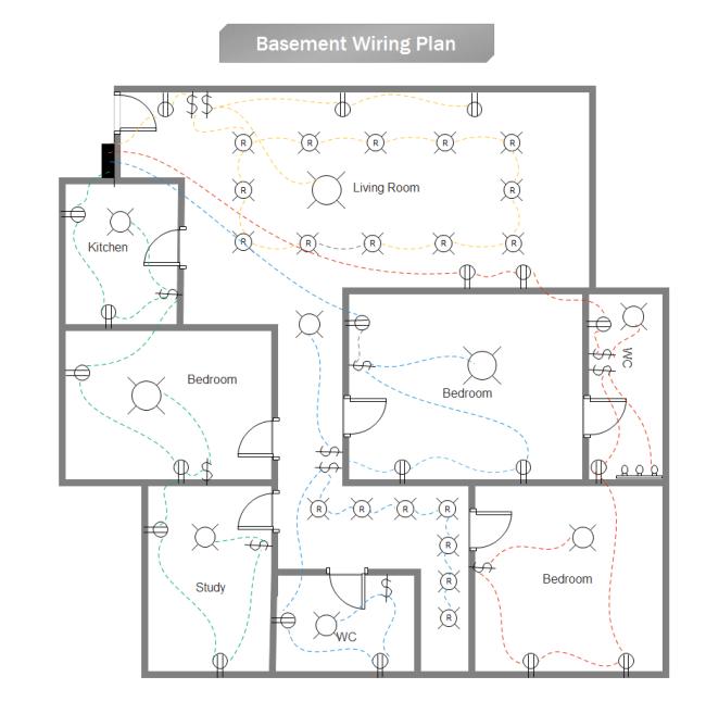 Plan Cablage Sous-Sol