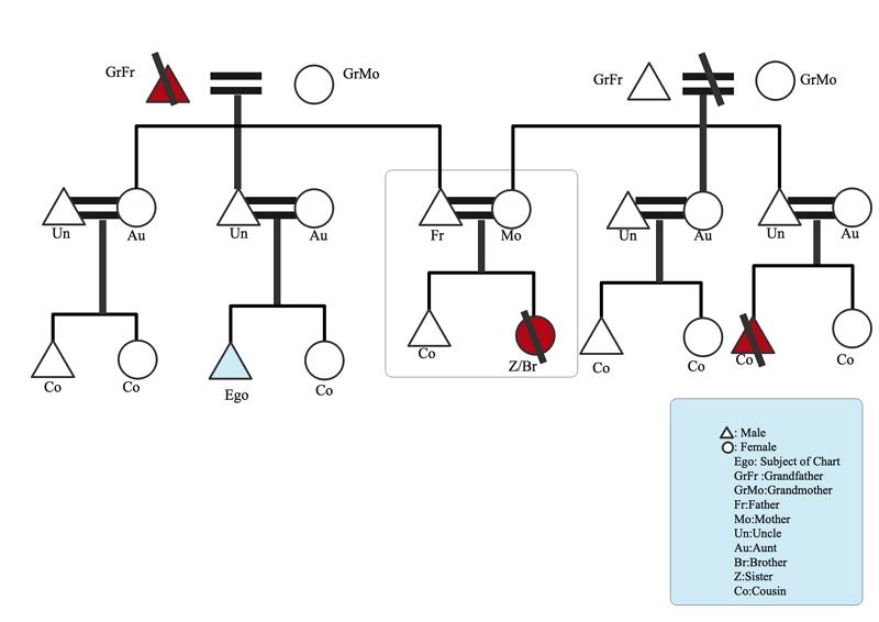 tableau de parenté exemple02