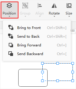 change shape position1