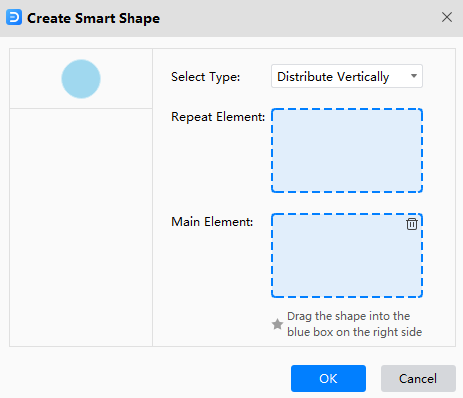 create smart shape window