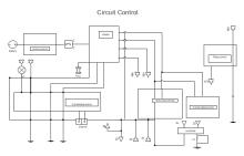 Schema di controllo del circuito