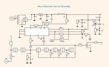 Diagramma schematico del dispositivo elettronico