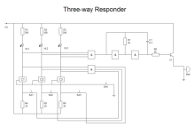 Diagrama de respondedores de três vias