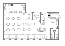 Canteen Design Layout