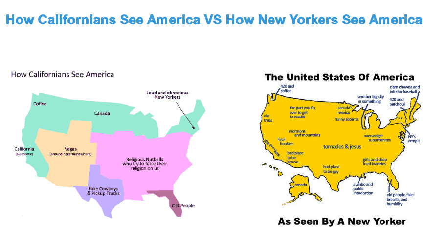 How American See Each Other