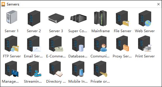 Servers Symbols