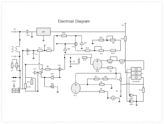 Engineering diagram template