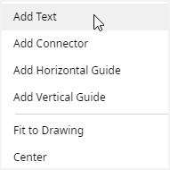 add text options