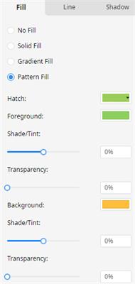 pattern fill option