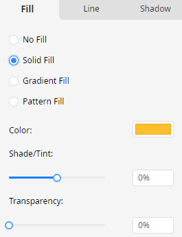 solid fill option