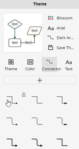 theme connector option