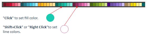 barra de colores rápida