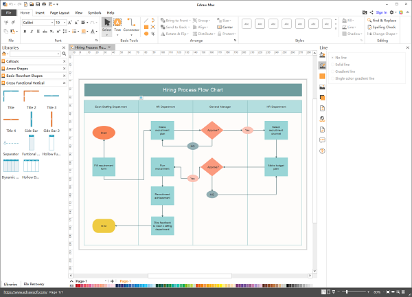 Edraw Flowchart Maker Free Download