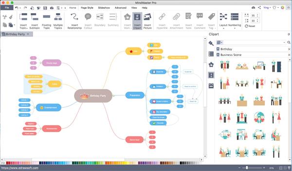 Brainstorm en MindMaster