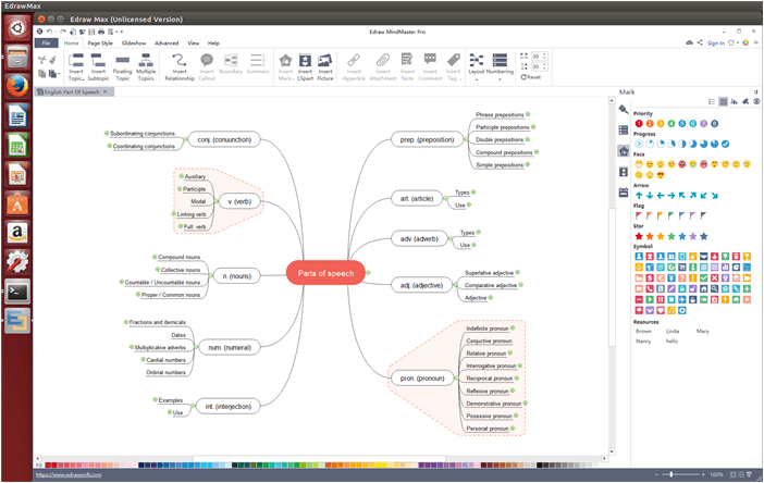 mind map in mindmaster