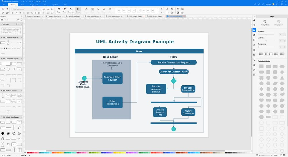 How to Create A UML Activity Diagram