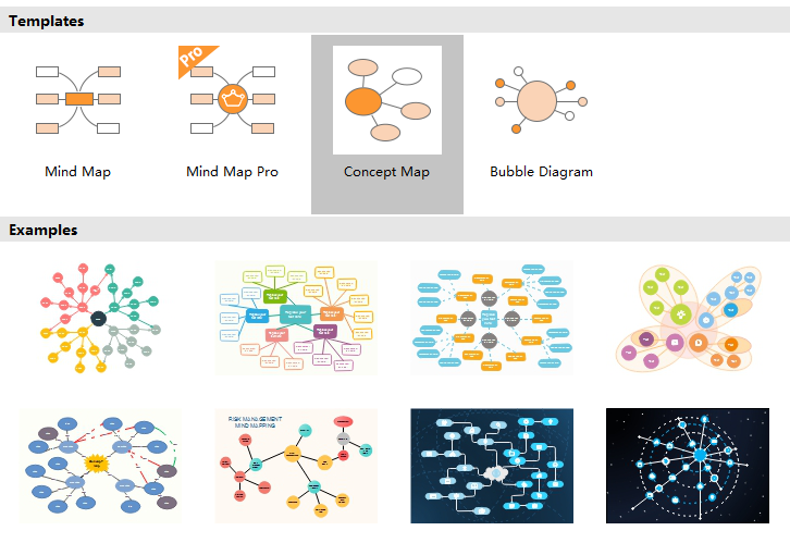 Concept Map Maker Interface