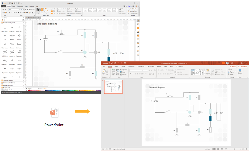 Circuit Diagram Export to PPT