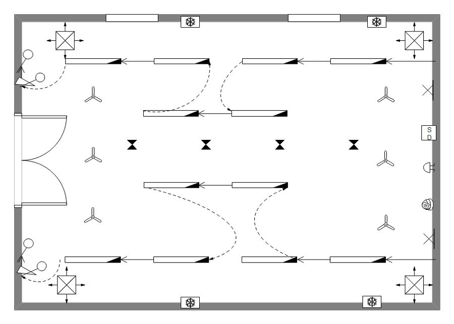 Ceiling Plan Template