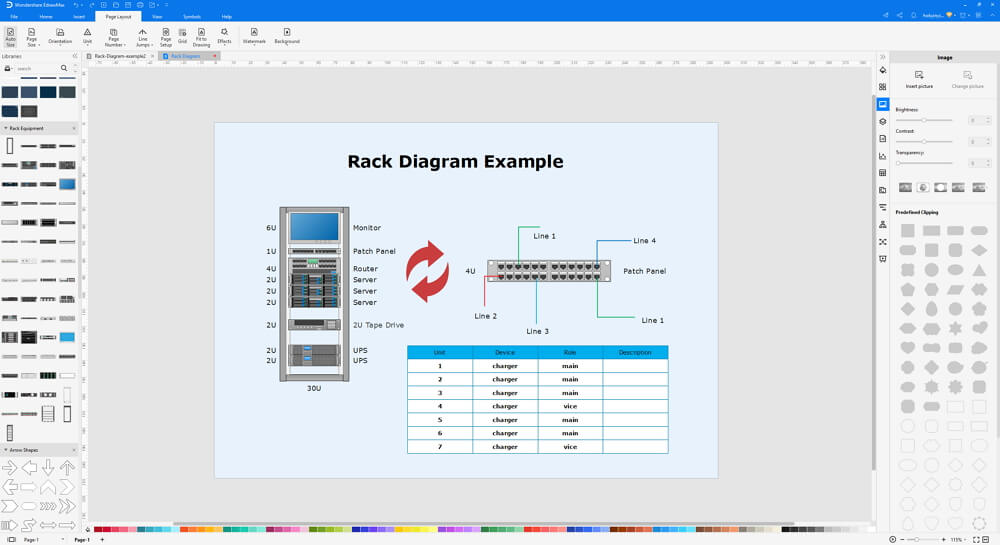 How to Create A Rack Architecture Diagram