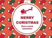 クリスマスカード9