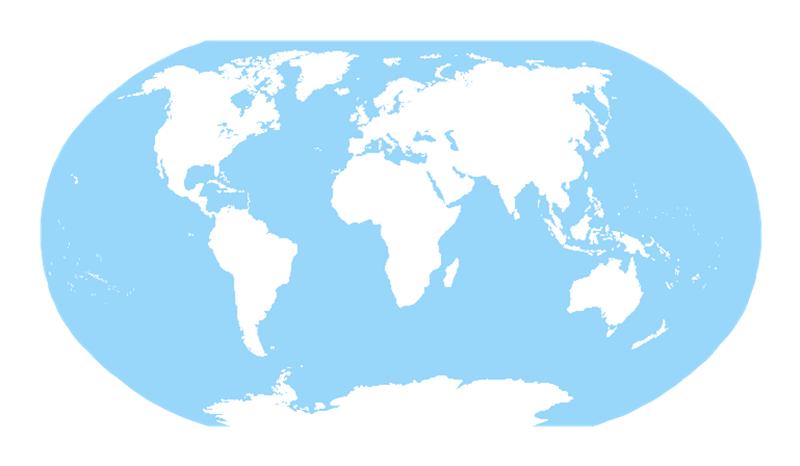 世界地図イラスト