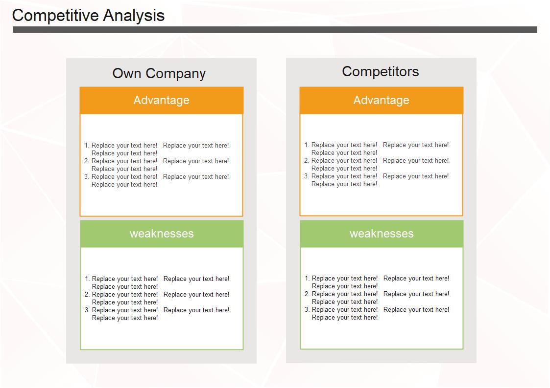 競合分析テンプレート