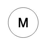 P&IDモーターの記号