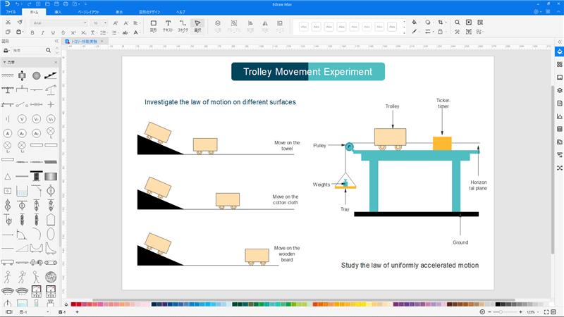 物理図作成ソフト