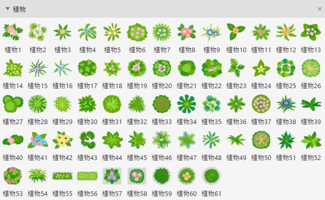 ガーデンデザイン要素 植物