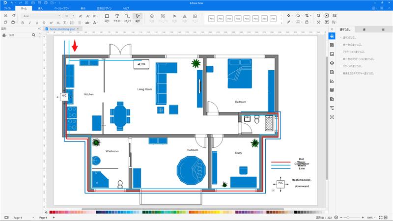 給排水設備と配管設計ソフト