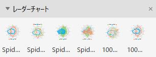 レーダーチャートテンプレート