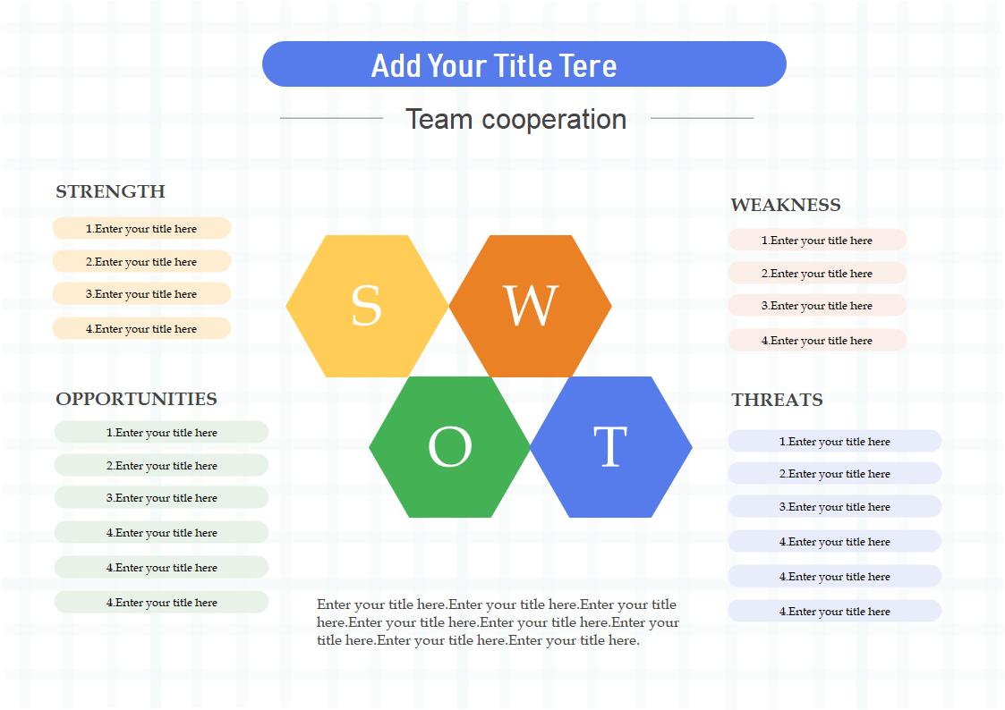 SWOT分析テンプレート