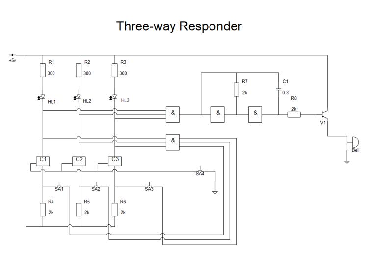 電気回路図