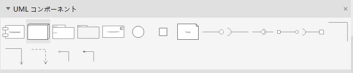 UML コンポーネント図記号