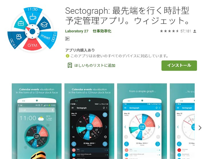 Sectograph