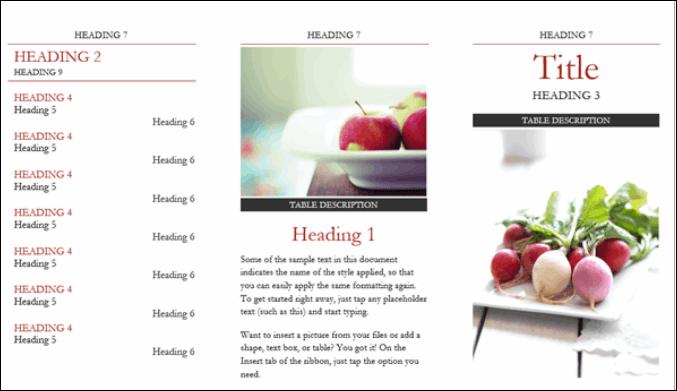 Microsoft Office Brochure Maker