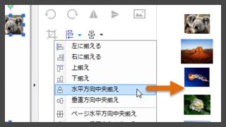 PDFに画像を入れる方法